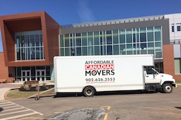 commercial moving PEI