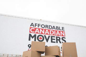 PEI moving boxes